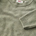 Fjallraven Ovik Re-Wool Sweater W, kolor: 664 - Frost Green.