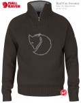 RED FOX SWEATER - SWETER WEŁNIANY - FJALLRAVEN