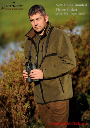 NEW GAME BONDED FLEECE JACKET - KURTKA POLAROWA - DEERHUNTER