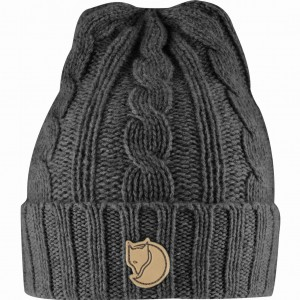 FJALLRAVEN BRAIDED KNIT HAT - CZAPKA WEŁNIANA