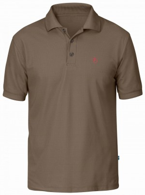 CROWLEY PIQUE SHIRT FJALLRAVEN - KOSZULKA POLO