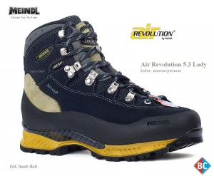 AIR REVOLUTION 5.3 LADY MEINDL - BUTY TREKKINGOWE