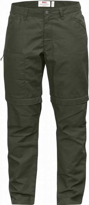 HIGH COAST ZIP-OFF TROUSERS W FJALLRAVEN - SPODNIE TERENOWE