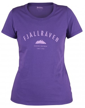 TREKKING EQUIPMENT T-SHIRT W FJALLRAVEN - KOSZULKA