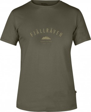 TREKKING EQUIPMENT T-SHIRT FJALLRAVEN - KOSZULKA
