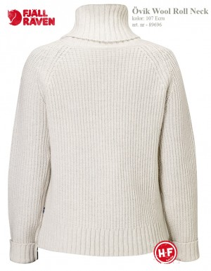 OVIK WOOL ROLL NECK - SWETER WEŁNIANY