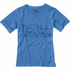 KIDS TRAIL T-SHIRT FJALLRAVEN - KOSZULKA