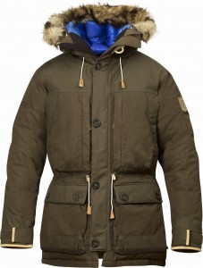 EXPEDITION DOWN PARKA No. 1 NUMBERS FJALLRAVEN - KURTKA PUCHOWA
