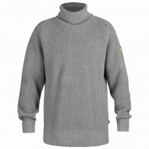 POLO No. 5 NUMBERS FJALLRAVEN - SWETER WEŁNIANY