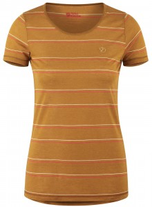 HIGH COAST STRIPE T-SHIRT W FJALLRAVEN - KOSZULKA