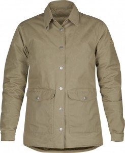 DOWN SHIRT JACKET No.1 W NUMBERS FJALLRAVEN - KOSZULA PUCHOWA