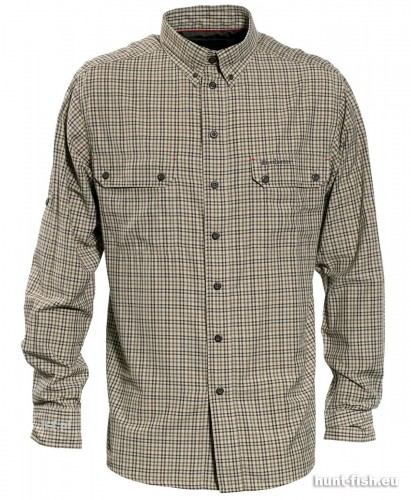 Deerhunter Terrence Bamboo Shirt, kolor: 399 - Green Check, nr 1.