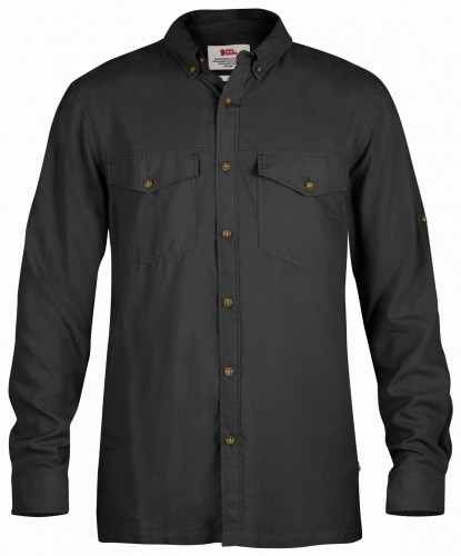 Fjallraven Abisko Vent Shirt LS, kolor: 030 - Dark Grey.