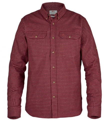 Forest Flannel  Shirt, kolor: 325 - Deep Red