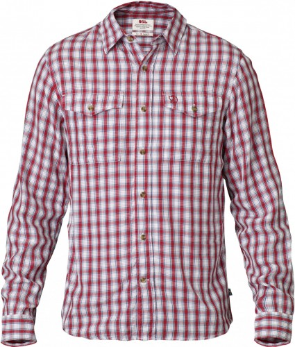 Fjallraven Abisko Cool Shirt LS, kolor: 320 - Red.
