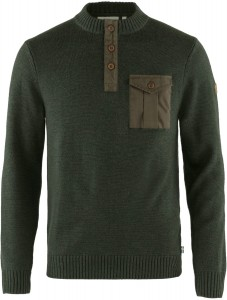 G-1000 Pocket Sweater Fjallraven - Ovik Family - sweter wełniany