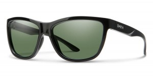Smith Optics Eclipse Black ChromaPop Polar Gray Green Mirror -  damskie okulary polaryzacyjne