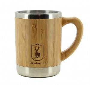DEERHUNTER BAMBOO CUP with HANDLE - KUBEK TERMICZNYZ UCHEM
