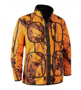 DEERHUNTER  GAMEKEEPER BOND. FLEECE JACKET - KURTKA POLAROWA DWUSTRONNA