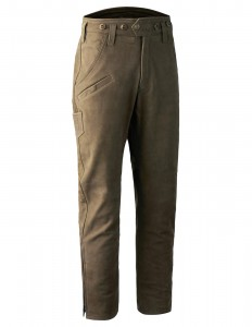DEERHUNTER STRASBOURG LEATHER BOOT TROUSERS - SPODNIE MYŚLIWSKIE