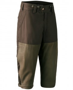 DEERHUNTER MARSEILLE LEATHER MIX BREEKS - BRYCZESY SKÓRZANE