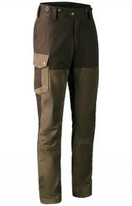 DEERHUNTER MARSEILLE LEATHER MIX TROUSERS - SPODNIE SKÓRZANE