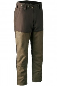 DEERHUNTER MARSEILLE LEATHER MIX  BOOT TROUSERS - SPODNIE SKÓRZANE
