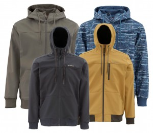 Simms Rogue Fleece Hoody UPF 50 - softshell wędkarski