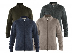 FJALLRAVEN GREENLAND RE-WOOL CARDIGAN - SWETER WEŁNIANY