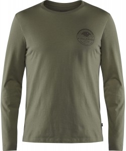 FJALLRAVEN FOREVER NATURE BADGE LS T-SHIRT - KOSZULKA OUTDOOROWA