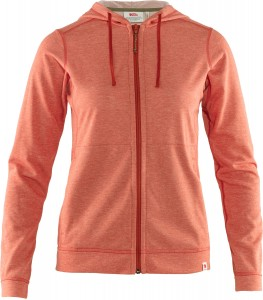 HIGH COAST LITE HOODIE W FJALLRAVEN - HIGH COAST FAMILY - BLUZA