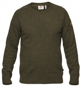 OVIK RE-WOOL SWEATER FJALLRAVEN - SWETER WEŁNIANY