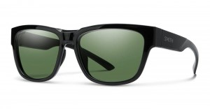 Smith Optics Ember Black ChromaPop Polar Gray Green Mirror - damskie okulary polaryzacyjne