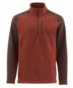 Simms Rivershed Fleece Sweater  - UPF50 - sweter polarowy