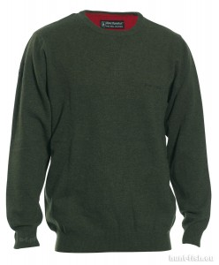 BRIGHTON KNIT w. O-NECK DEERHUNTER - SWETER