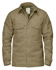DOWN SHIRT JACKET No. 1 NUMBERS FJALLRAVEN - KOSZULA PUCHOWA
