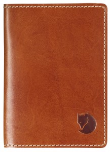 LEATHER PASSPORT COVER FJALLRAVEN - ETUI NA PASZPORT