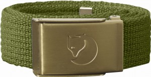 FJALLRAVEN KIDS CANVAS BRASS BELT - PASEK PARCIANY