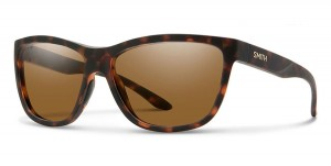 Smith Optics Eclipse Matte Havana ChromaPop Polar Brown Mirror -  damskie okulary polaryzacyjne