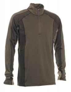 GREENOCK UNDERWEAR SHIRT W. ZIP NECK DEERHUNTER - BIELIZNA GOLF