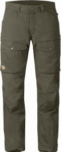 TROUSERS No. 27 NUMBERS FJALLRAVEN - SPODNIE TREKKINGOWE