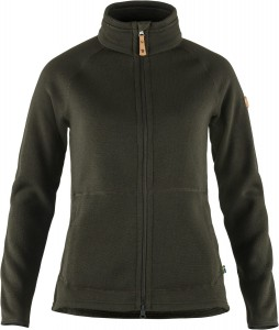 Ovik Fleece Zip Sweater W Fjallraven - bluza polarowa