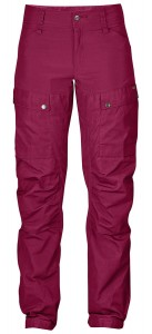 KEB TROUSERS W CURVED REGULAR FJALLRAVEN - SPODNIE TREKKINGOWE