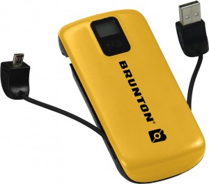 BRUNTON METAL 4400 - POWER BANK