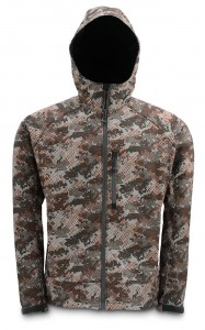 SIMMS WINDSTOPPER HOODY CATCH CAMO - KURTKA Z WINDSTOPEREM