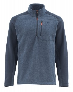 SIMMS RIVERSHED FLEECE SWEATER  - UPF50 - BLUZA POLAROWA