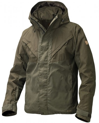 Drev Jacket, kolor: 633-246 - Dark Olive/Tarmac