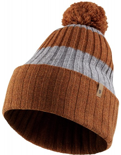 Byron Striped Pom Hat, kolor: 215-020 - Autumn Leaf Grey