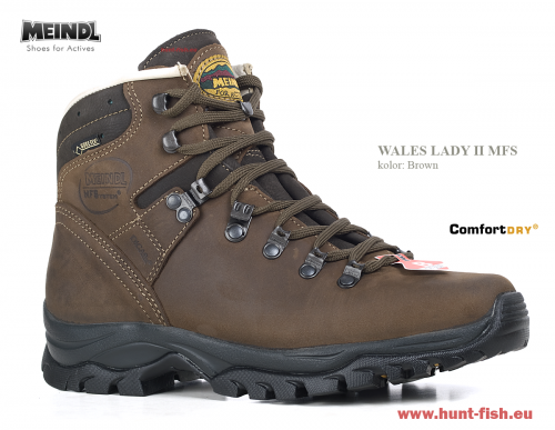 Meindl Wales Lady 2 MFS, kolor: Brown
