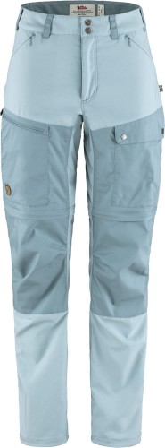 Abisko Midsummer Zip-Off Trousers W, kolor: 562-563 - Mineral Blue - Clay Blue